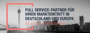Full Service für Ihren Markteintritt